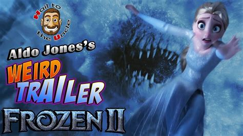 frozen  weird trailer frozen ii funny spoof parody