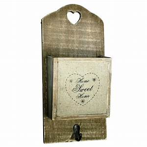 wall mount letter holder with wood vintage design and With vintage wall letter holder