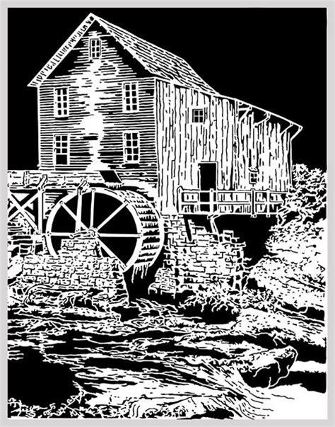 glade creek mill scroll  pinterest milling glass
