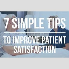 7 Simple Tips To Improve Patient Satisfaction Scores Apollomd