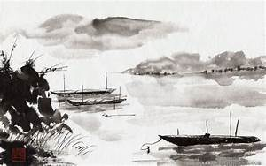 Chinese ink landscape paintings - Paintings Wallpapers ...