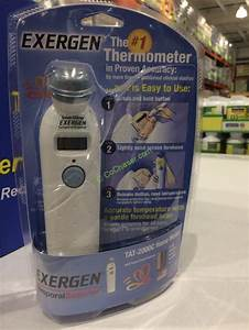Exergen Temporal Artery Thermometer  Tat