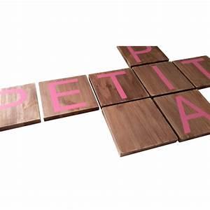 Lettre Decorative A Poser : lettre en bois a poser choix tailles ~ Dailycaller-alerts.com Idées de Décoration