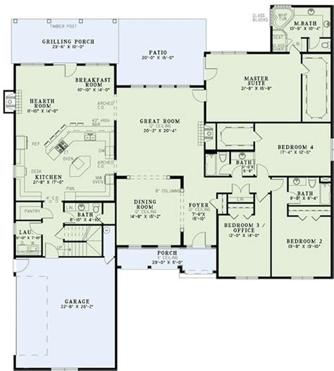 one house plans with large kitchens kitchen keeping room breakfast nook layout