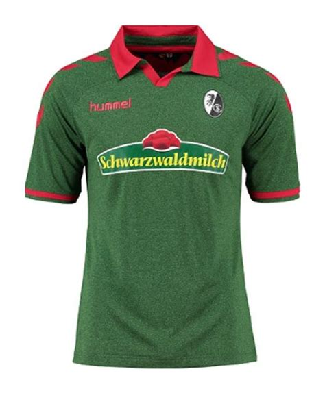 Jun 30, 2021 · freiburg's away kit is mainly black, with red raglan sleeves, a black crew neck collar and a jagged red stripe down each side of the shirt. SC Freiburg 2016-17 Third Kit