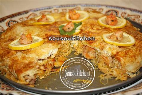 cuisine marocaine pastilla au poulet pastilla au poisson sousoukitchen