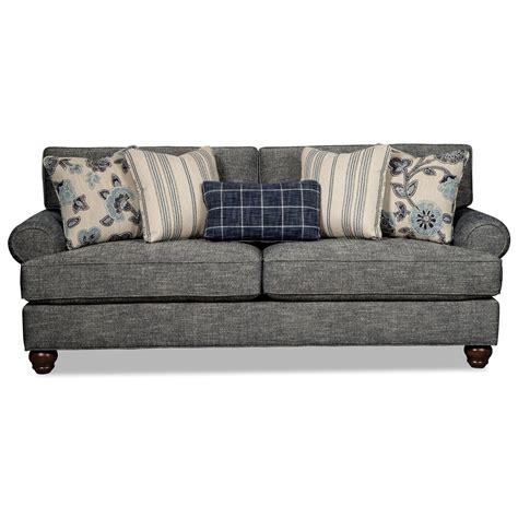 Craftmaster Sleeper Sofa by Craftmaster 773550 Traditional Sleeper Sofa With