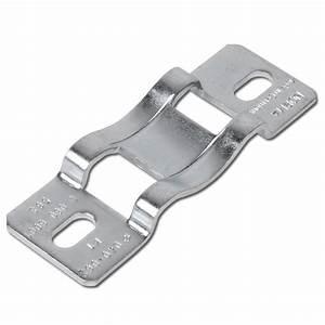 Collier De Fixation Tube Acier : platine de fixation pour collier de serrage acier galvanis pour tube de 40 259 mm ~ Melissatoandfro.com Idées de Décoration