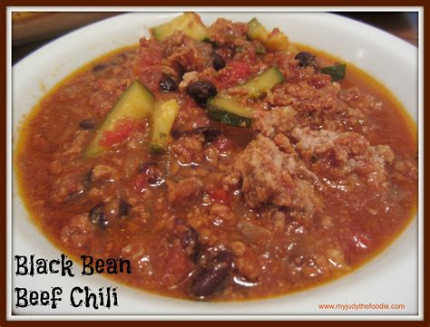 beef and black bean chili slow cooker beef and black bean chili recipe dishmaps
