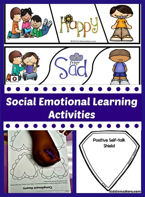 social emotional learning activities  kids foer barn foerskola och unge