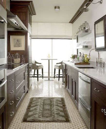 open plan galley kitchen 24 best galley kitchens images on 3744