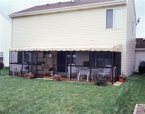 Patio Mate Screen Rooms by Patio Mate 8 6 Quot X 25 6 Quot Screened Patio Enclosure