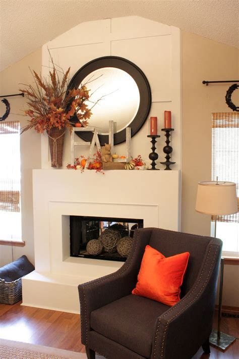 chic decor ideas ten best fall mantel decorating ideas rustic crafts Rustic