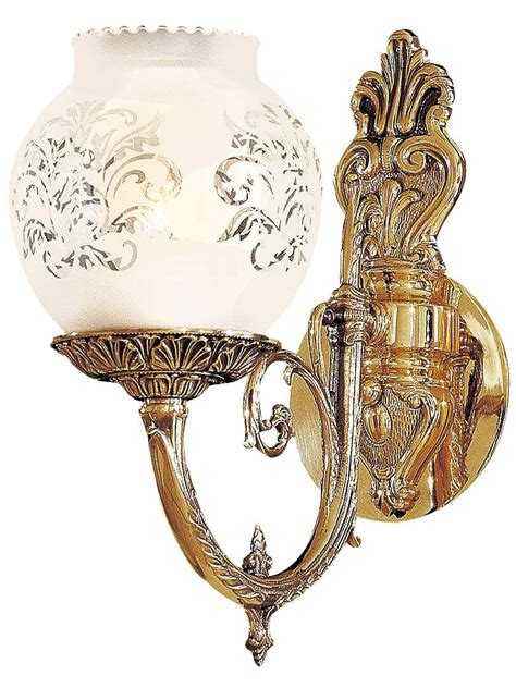 victorian lighting english victorian sconce  etched