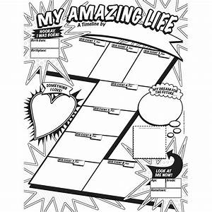 My Timeline Gr 3-6 Graphic Organizer Posters - SC ...