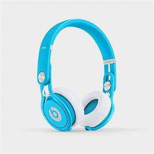 Amazon.com: Beats Mixr On-Ear Headphone (Neon Blue ...