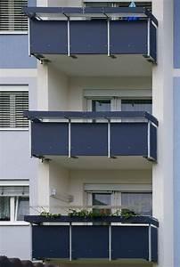 Platten Für Balkon : gl0467 balkon verkleidung platten blau ~ Lizthompson.info Haus und Dekorationen