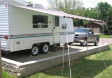 Show You How To Make Your Own Camper Awning By Hydrojoe