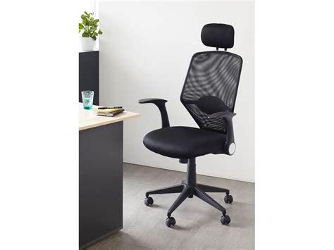 fauteuil de bureau habitat fauteuil de bureau ministre quot galleon quot noir 68652