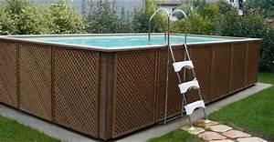 Piscine Hors Sol Metal : piscine hors sol acier r sine achat vente chez irrijardin ~ Dailycaller-alerts.com Idées de Décoration