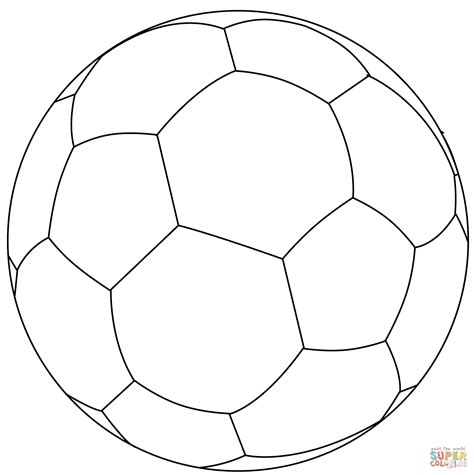 football ball coloring page  printable coloring pages