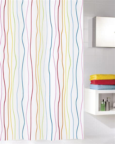 Duschvorhang Breit by Kleine Wolke Duschvorhang Multicolor 180 X 200 Cm