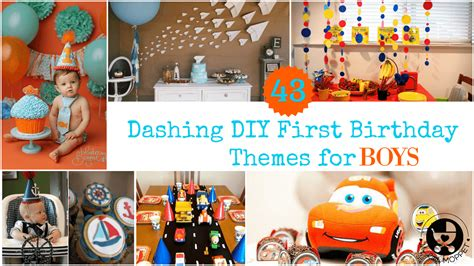 1st birthday party ideas boy happy idea on 43 dashing diy boy birthday themes