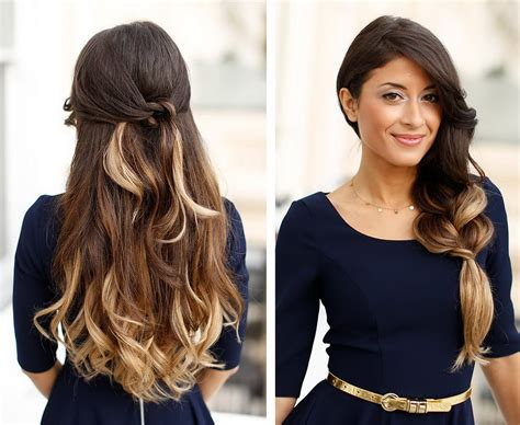Glamorous Hairstyles Ideas For Cocktail Party Hairzstyle