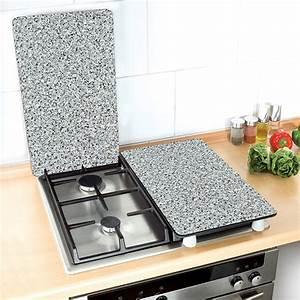 Credence Plaque De Cuisson : 2 couvre plaques granit wenko wenko protection plaques ~ Dailycaller-alerts.com Idées de Décoration