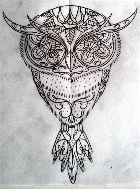 Images Sugar Skull Owl Google Search Owls
