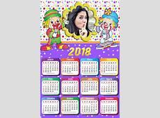 Montagem de fotos Calendário Moldura para calendario