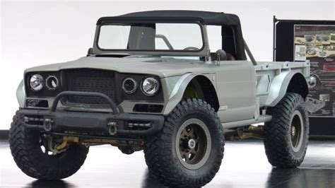 Jeep M715 Concept by The Jeep M 715 Five Quarter Is A 700 Hp Convertible