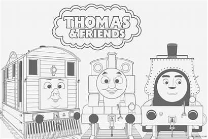 Thomas Coloring Train Printable Sheets Tank Colouring