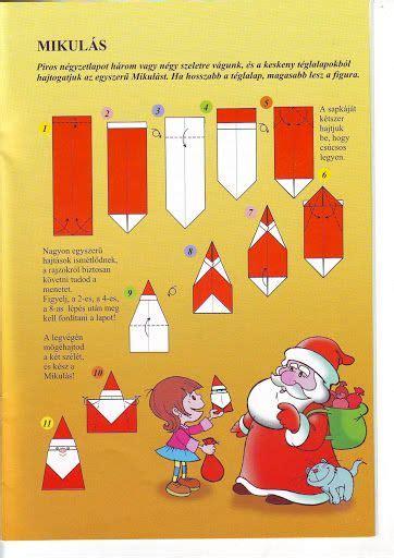 origami nikolaus adventskalender nikolaus basteln origami weihnachten und