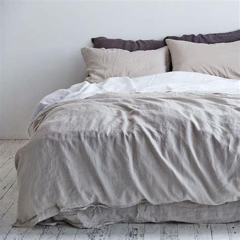 Linen Doona Cover Navy Duvet Cover Bed Cover Sets Duvet