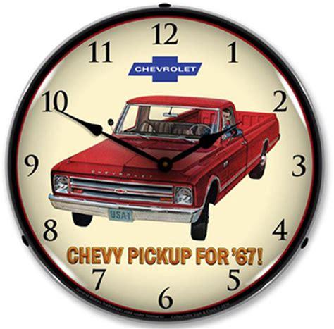 chevy truck classic wall clock chevymall