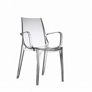 Chaise Design Avec Accoudoirs Vanity Par SCAB