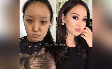 goar avetisyan interesting asian makeup