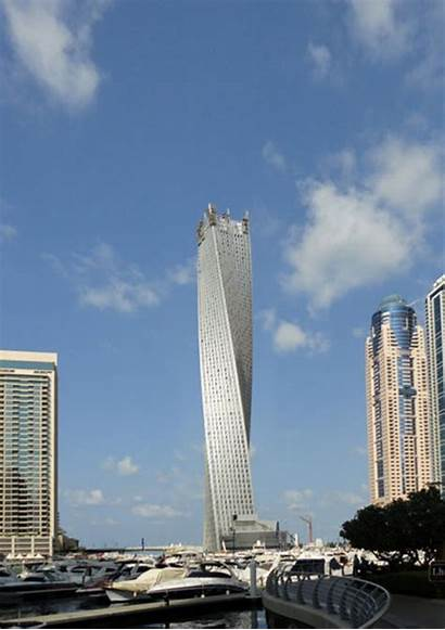 Som Tower Towers Infinity Dubai Twisting Cayan