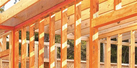 construct  strong frame  engineered wood framing lp