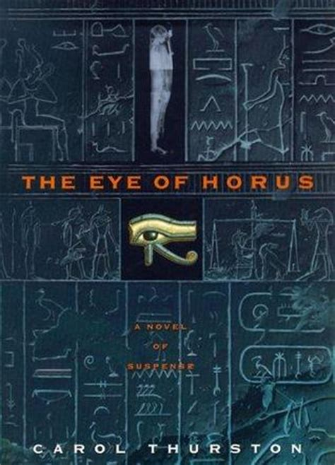 eye  horus  carol thurston reviews discussion bookclubs lists
