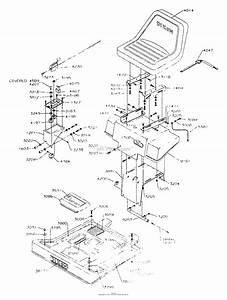Dixon Ztr 361  1991  Parts Diagram For Body Assembly