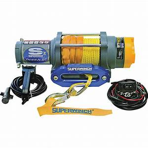 Superwinch 12 Volt Dc Powered Electric Utv Winch  U2014 4500
