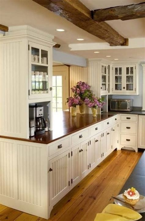 country beadboard kitchen cabinets cozy kitchen pictures photos and images for