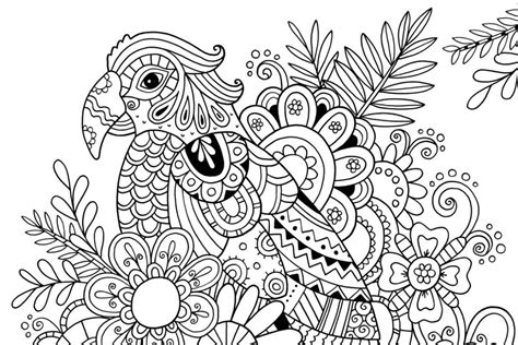 Color By Number Printables With Coloring Flowers With