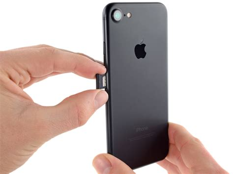 remove iphone sim card iphone 7 sim card replacement ifixit