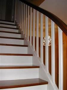 escalier peint meilleures images d39inspiration pour With ordinary peindre un escalier bois 3 un escalier en bois peint en gris ce serait le bonheur