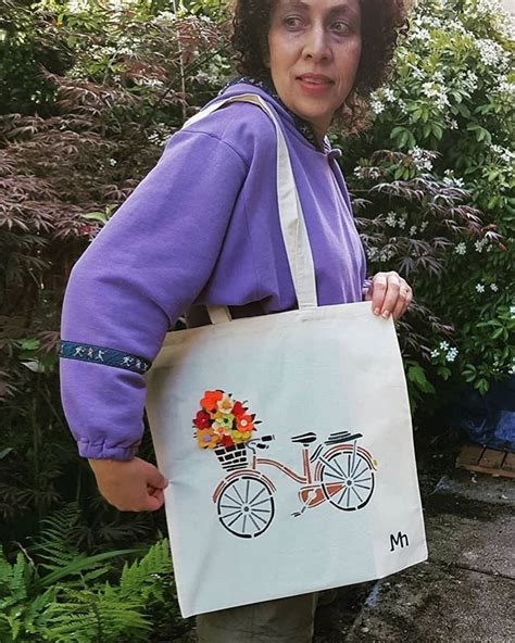 enjoy  ride  shop  groceries   tote bag    etsy shop mhdesigns