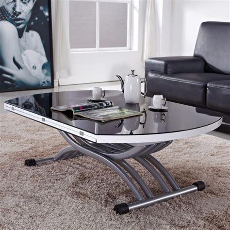 petit meuble de cuisine pas cher table relevable noir transformable tables relevables