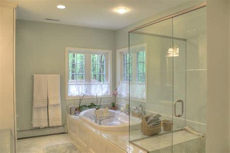 shower ideas custom tile shower connected  tub deck